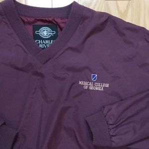 Charles River Apparel Jackets & Coats - Medical College of Georgia MCG Windbreaker